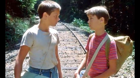 1986 - Stand by Me - Chris telling Gordie he's got a gift