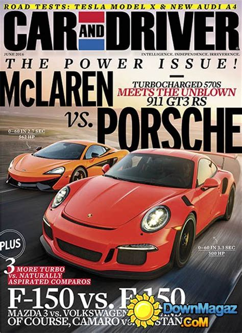 Car and Driver - June 2016 » Download PDF magazines