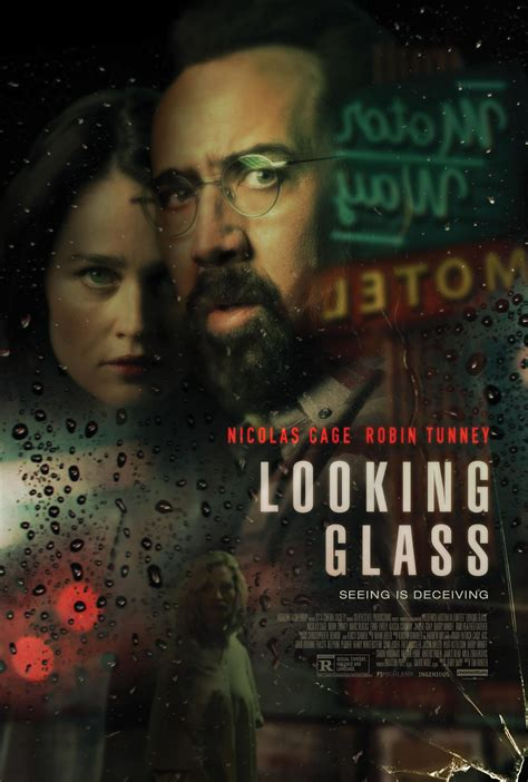 Looking Glass Poster Teases Nicolas Cage's Voyeuristic
