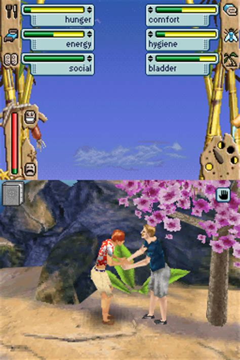All The Sims 2: Castaway Screenshots for PlayStation 2