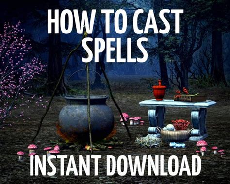 How to Cast Spells Spell Casting Guide Wiccan Witchcraft