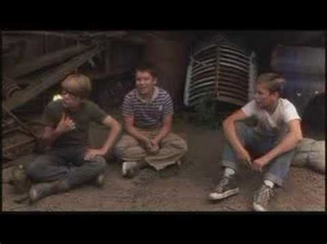 Best scene in Stand By Me - YouTube